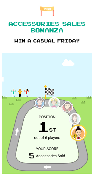 Arcade App Screenshot - Race Game