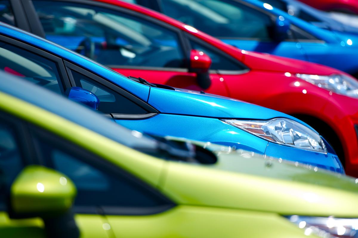New Car Sales Lot
