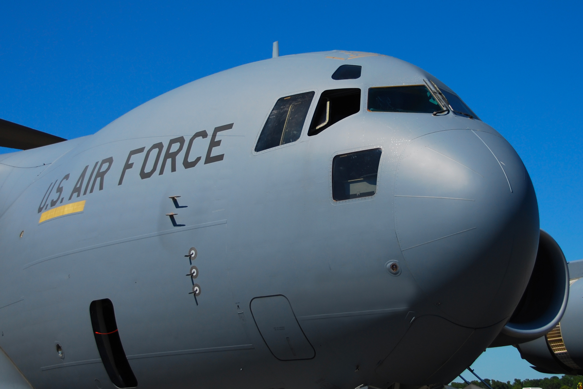 Large US Air Force Plane