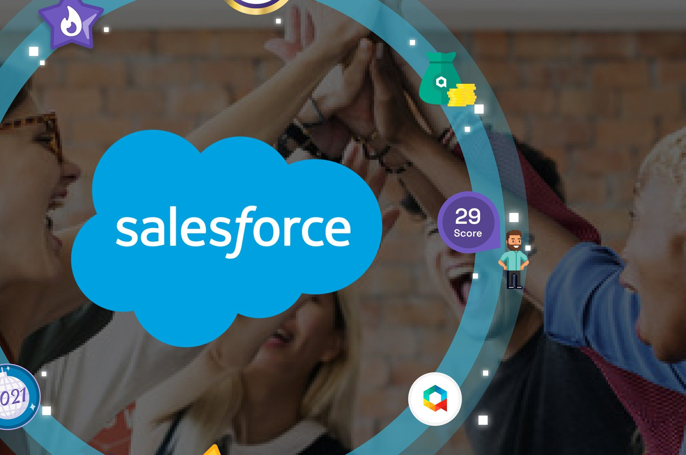 How salesforce gamification tools can improve team performance