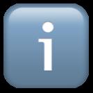 info emoji