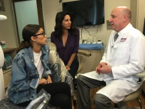 Cosmetic Dentist Dr. Frey Performs Zoom Whitening For Zendaya