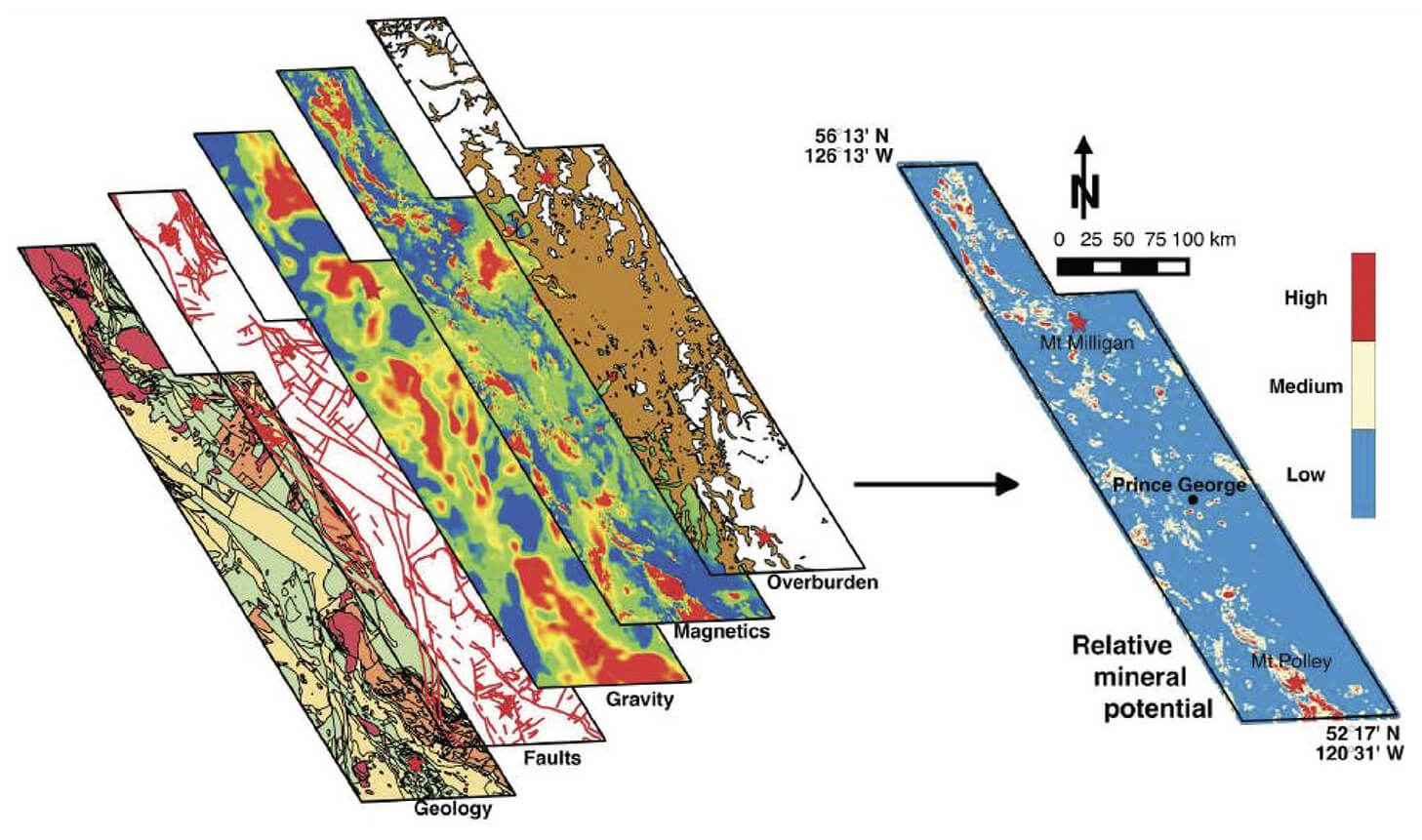 Mineral Prospectivity Mapping Using a VNet Convolutional Neural Network