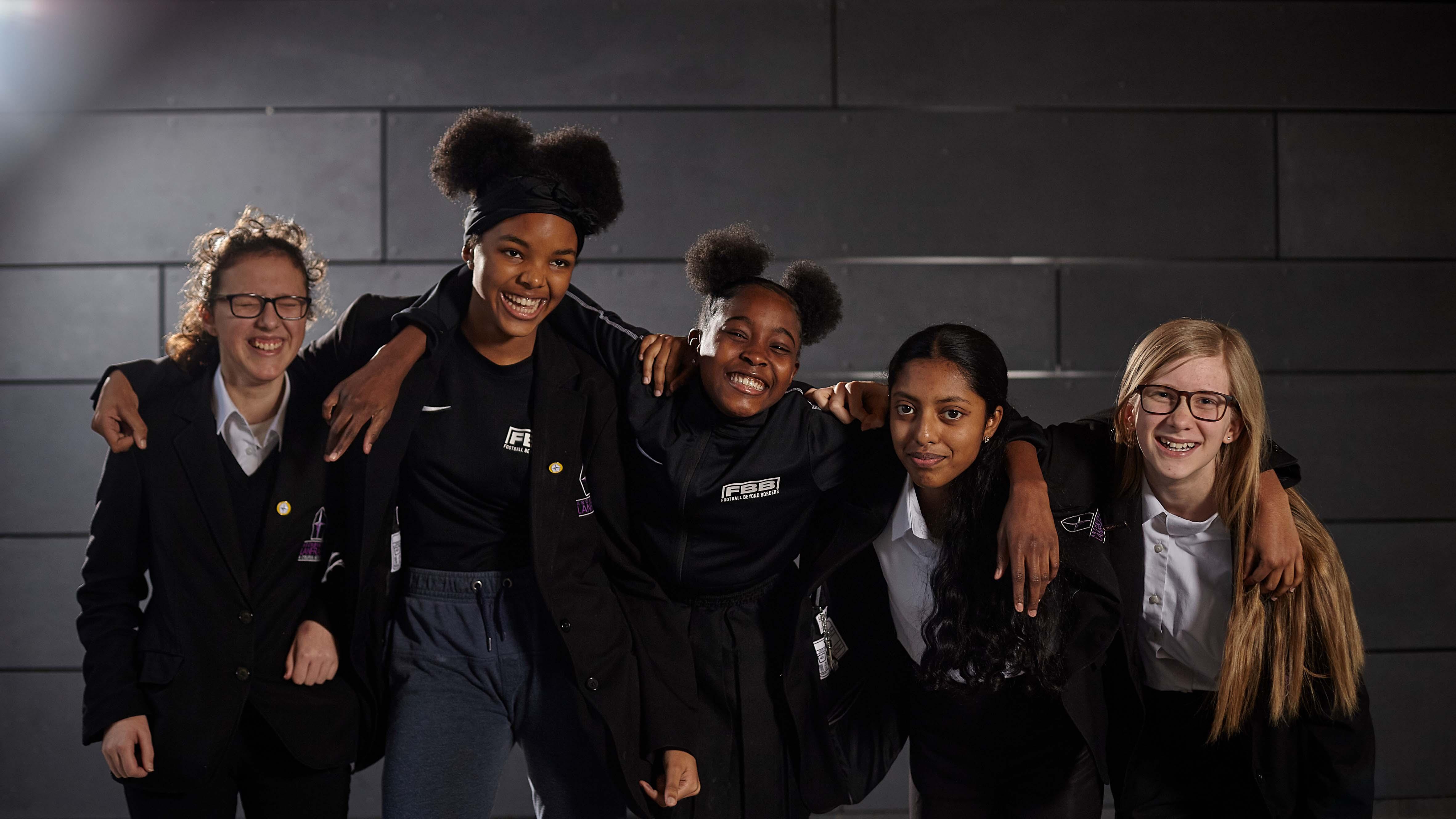 Football Beyond Borders girls programme