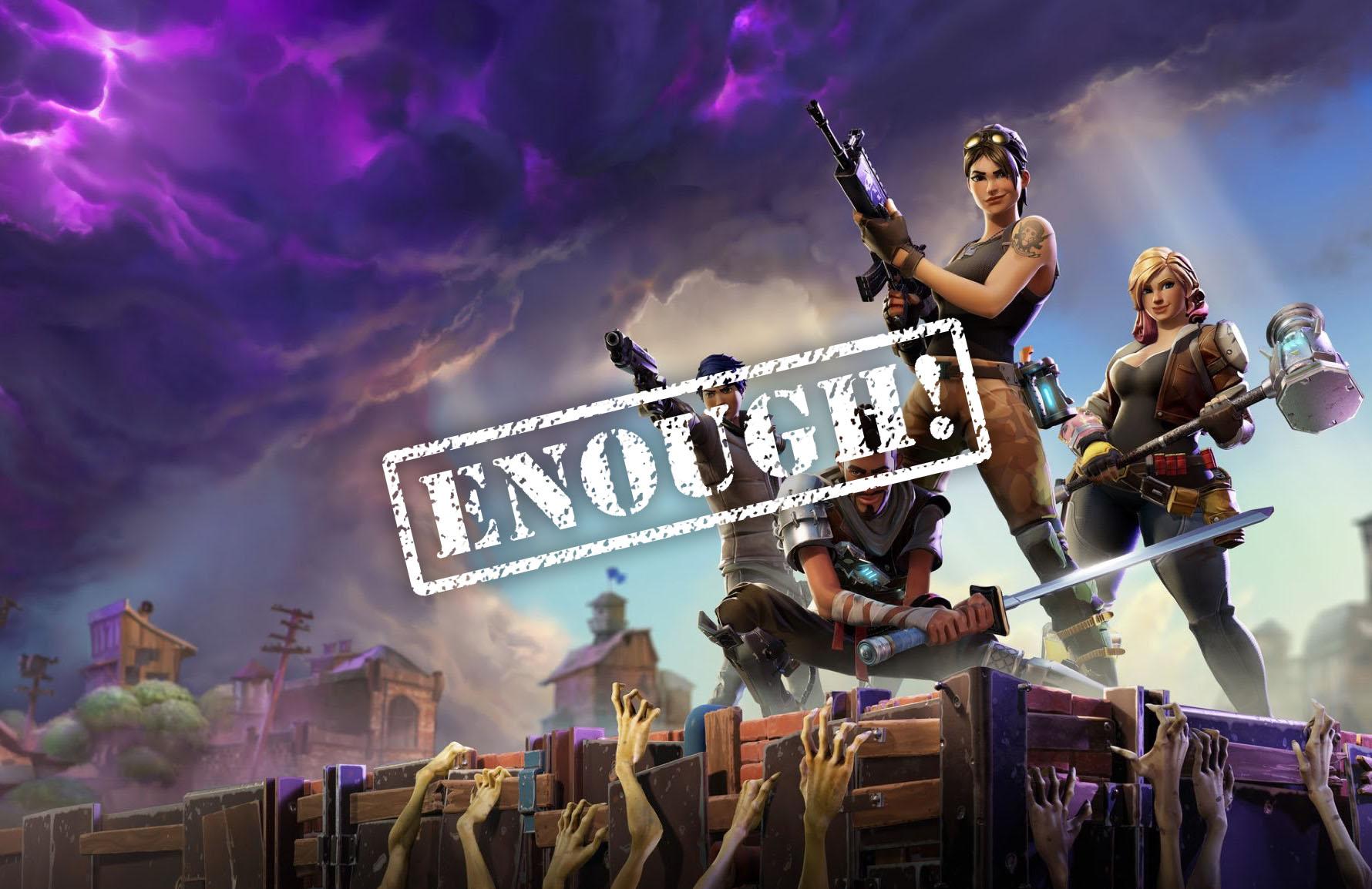 Fortnite enough|Fortnite V-Bucks|Fortnite gamer