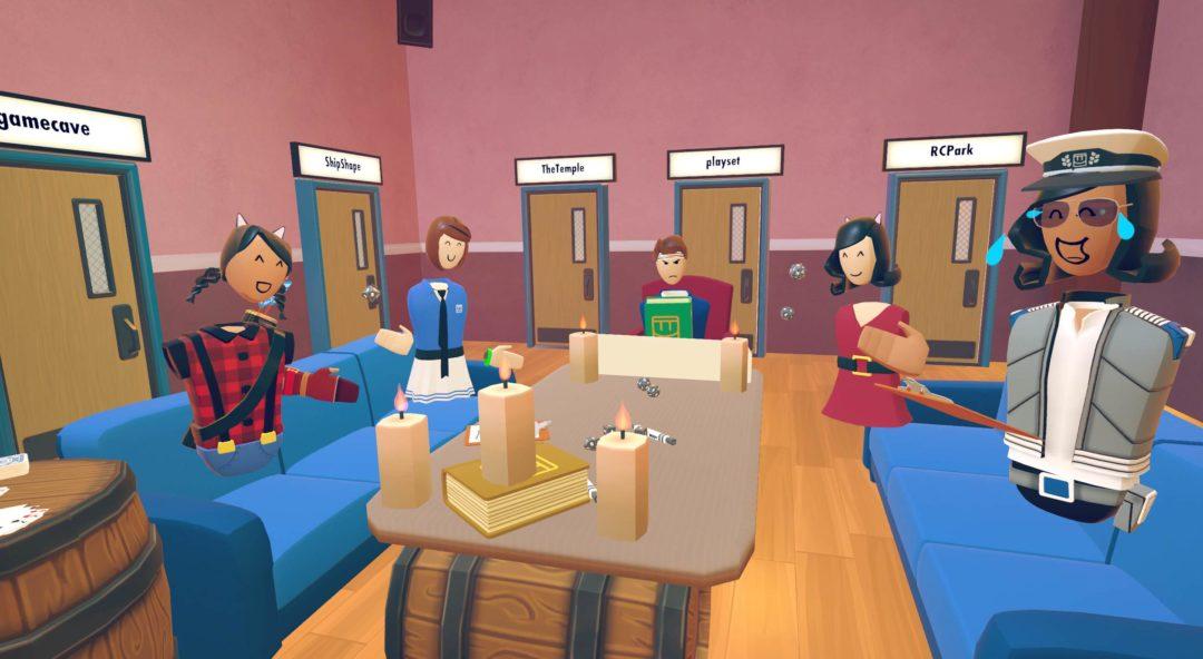 VR Gaming - Rec Room||VR 3D Rudder