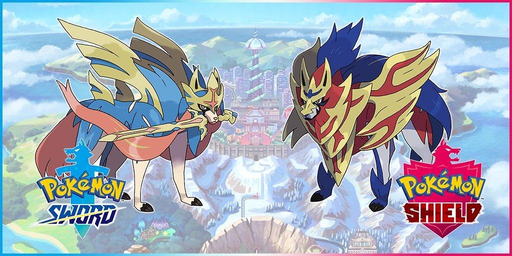 Sword aShield legendary pokemon Sword and shield starter pokemon Dynamax pokemon sword and shield starter pokemon