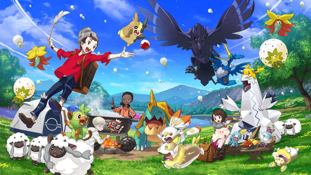 Games of 2019 Pokemon Sword and Shield