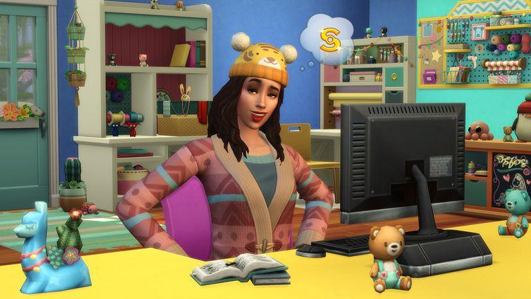 Sims 4 Nifty Knitting Plopsy