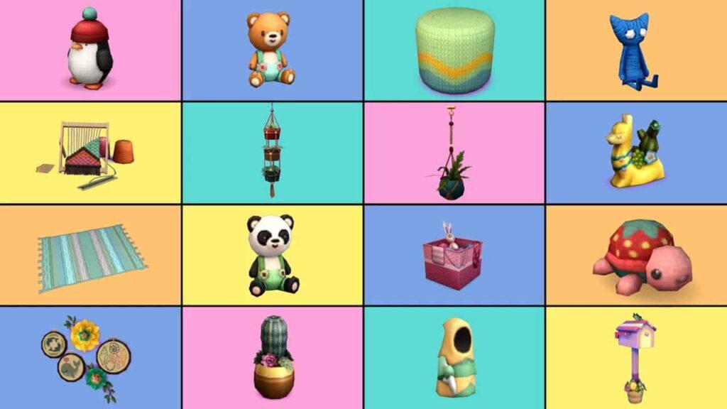 Sims 4 Nifty Knitting Items