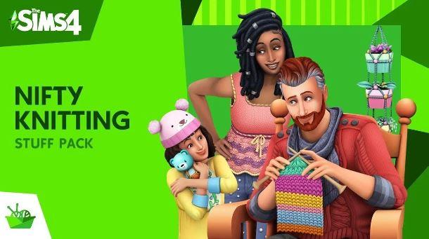|Sims 4 Nifty Knitting Items|||Sims 4 Nifty Knitting Plopsy