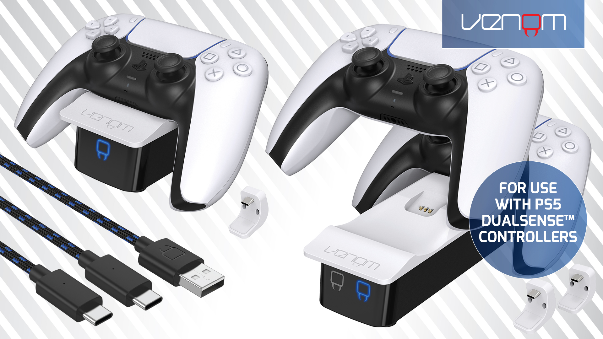 Venom Charging Accessories for PlayStation 5