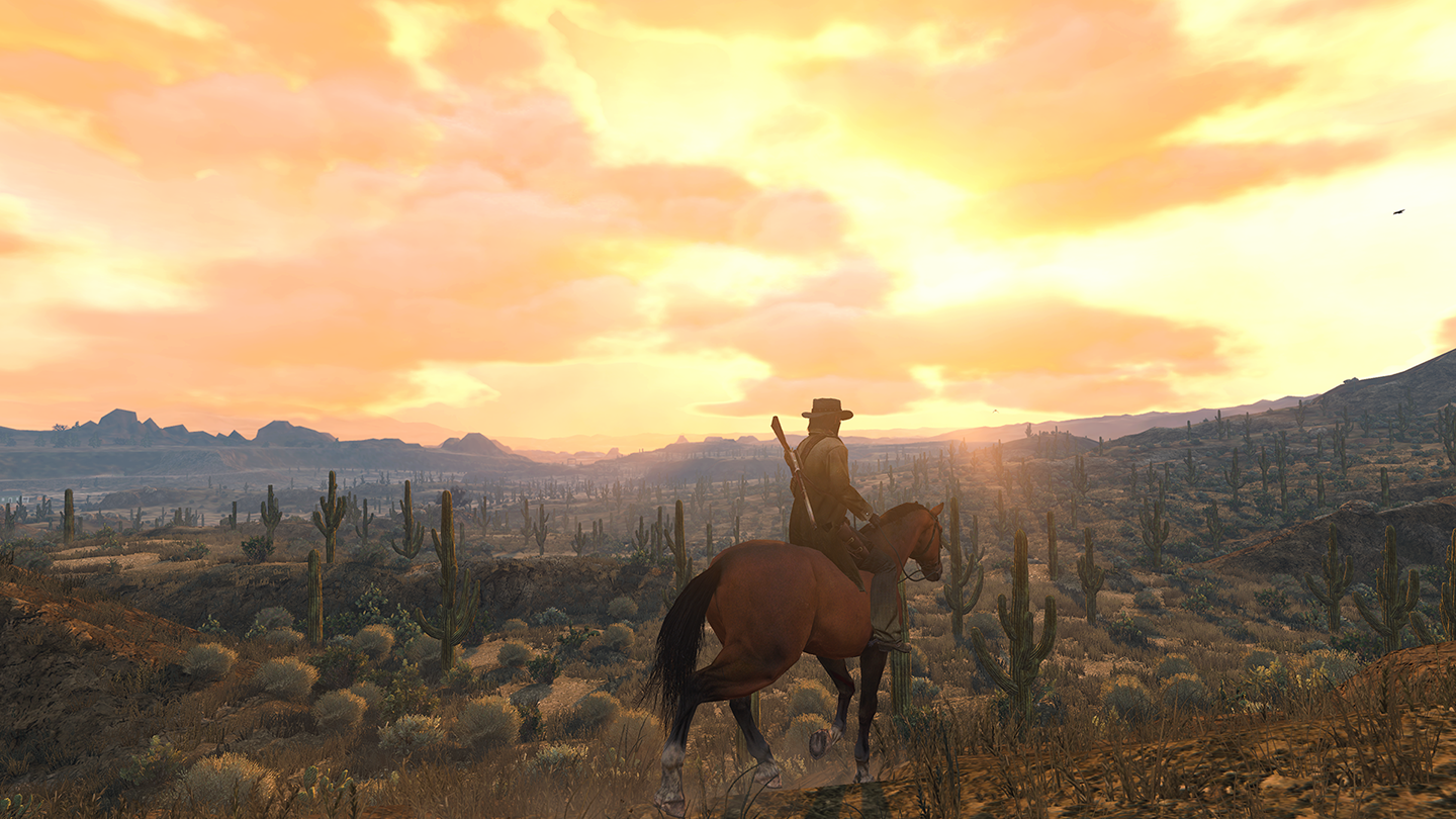 Red Dead Redemption 2 for console and Sims 4 on the PC