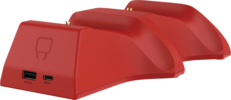 TWIN DOCKING STATION red