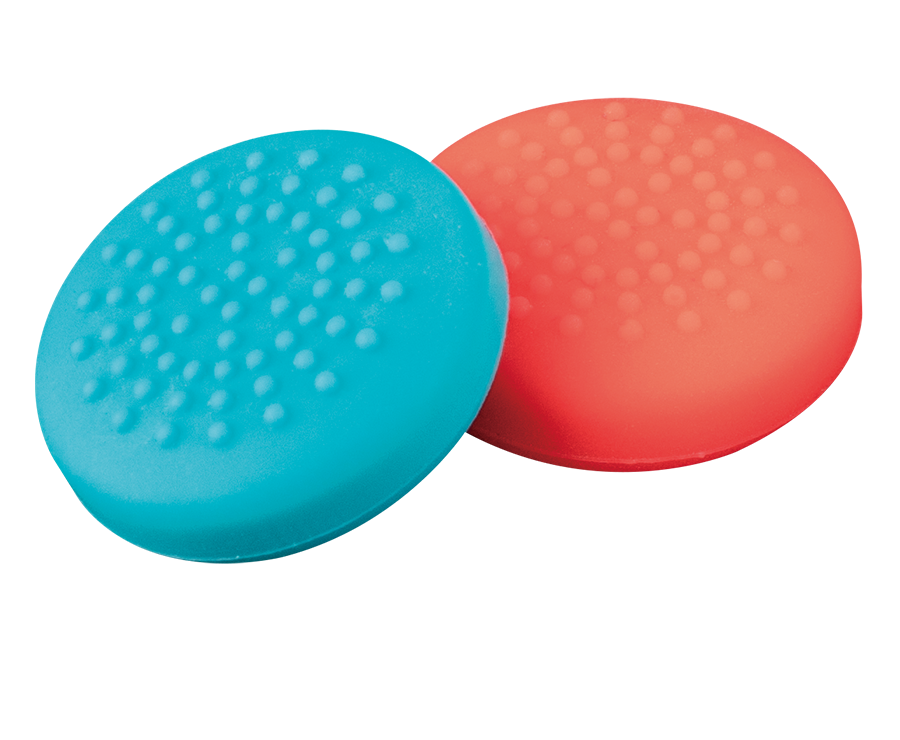 THUMB GRIPS RED & BLUE