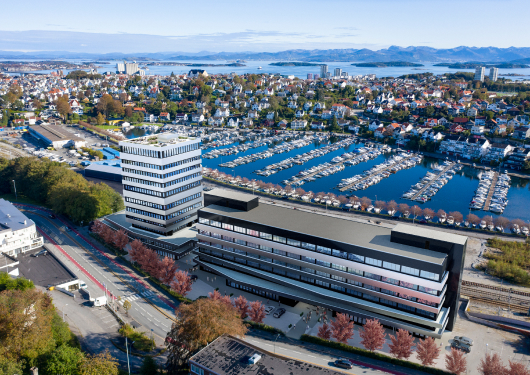 Byggning og nærområdet Lagårdveien 80, Stavanger