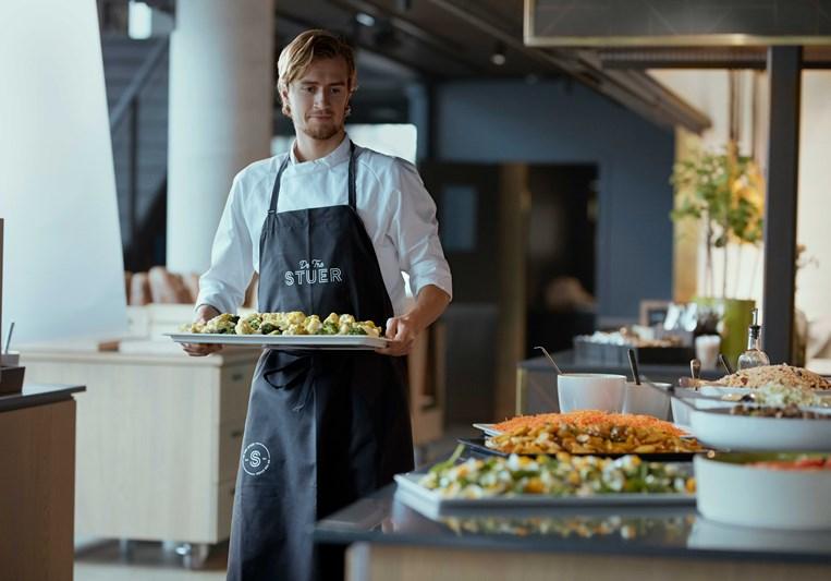 kokk fra 4Service catering, Langårdsvei 80 personalrestaurant