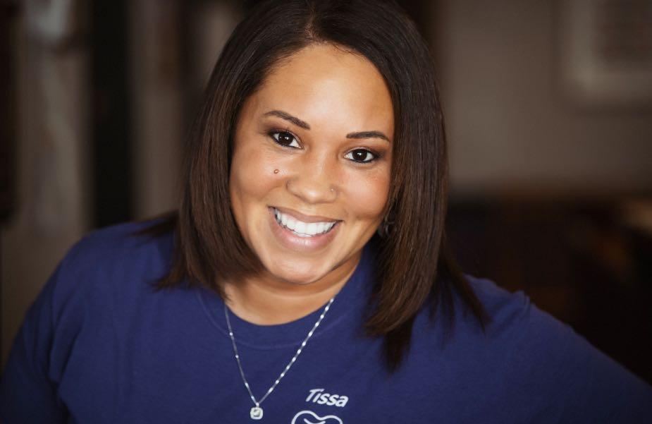 Photo of Tissa, the office coordinator