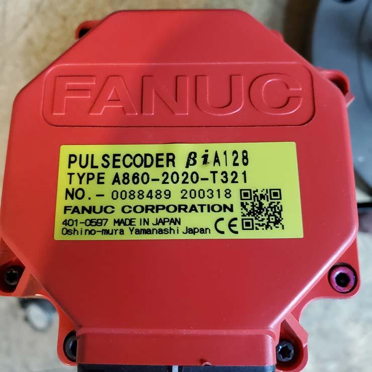 Muskegon Fanuc AC Servo Motor For Sale