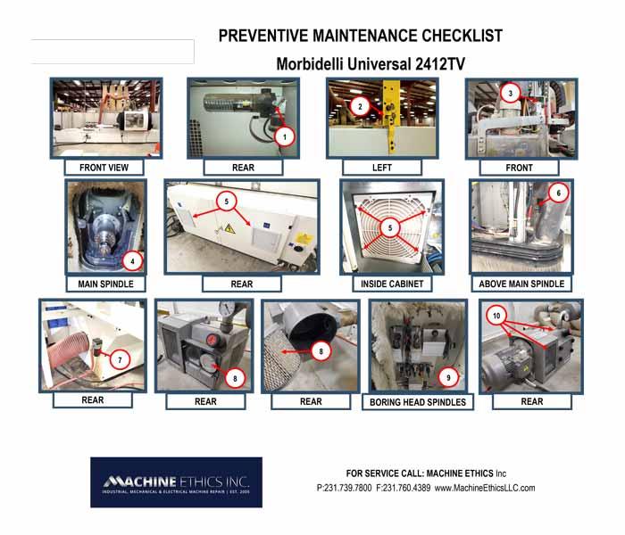 Preventative Machine Maintenance West Michigan
