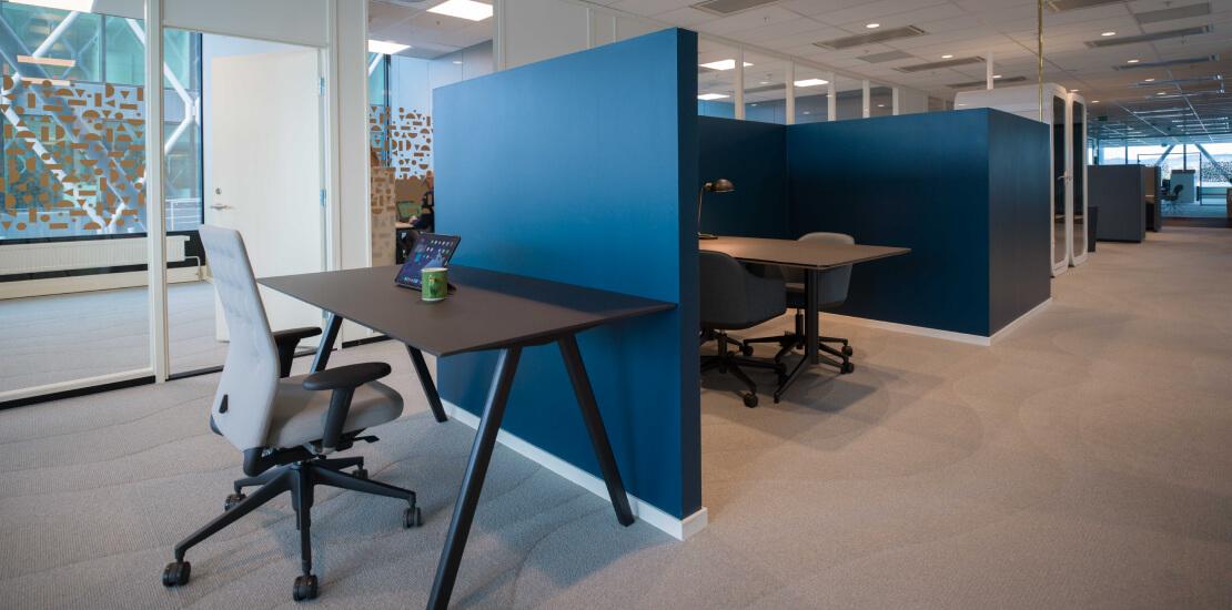 Evolve   Kontor, fleksibelt, flex plass