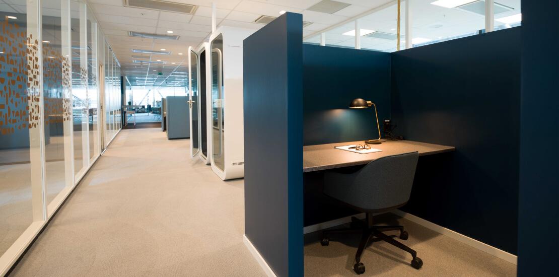 Evolve   Kontor, fleksibelt, base plass
