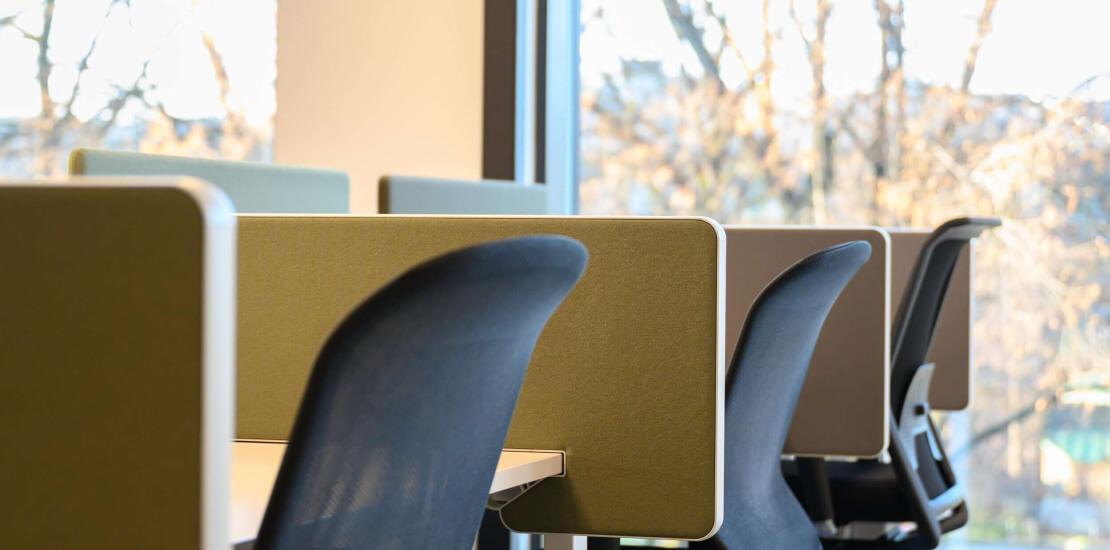 Evolve Porsgrunn | fleksibelt kontor, vitra møbler