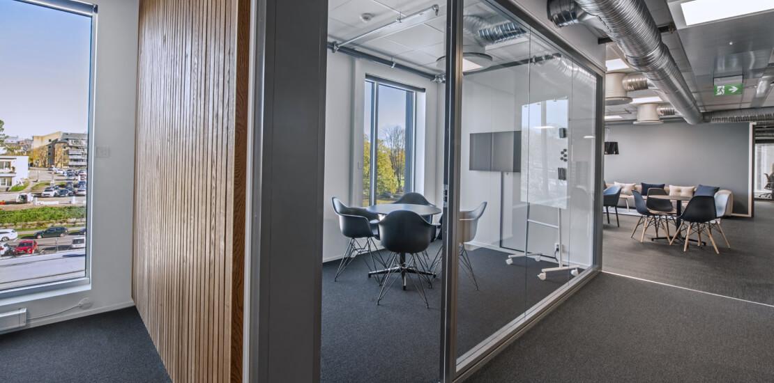 Evolve tønsberg | Fleksibelt kontor, møterom