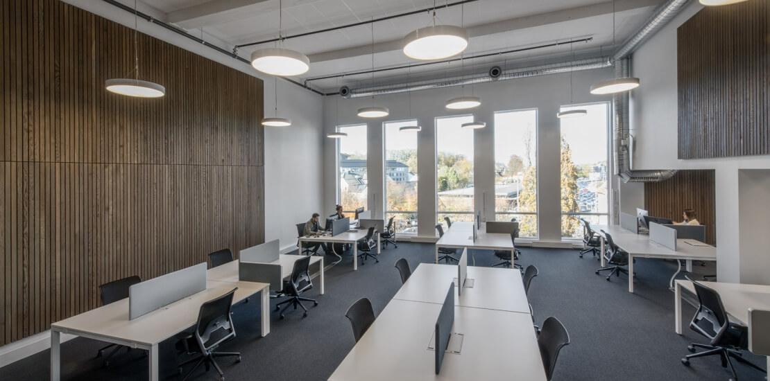 Evolve tønsberg | Fleksibelt kontor, trapp, åpent, nytt