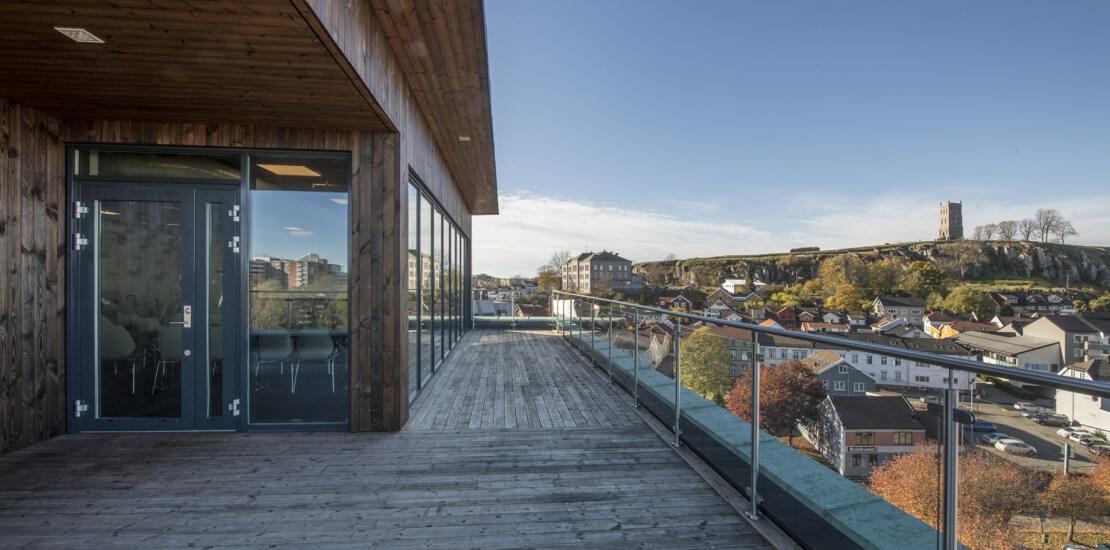 Evolve tønsberg | Fleksibelt kontor, trapp, åpent, utsikt