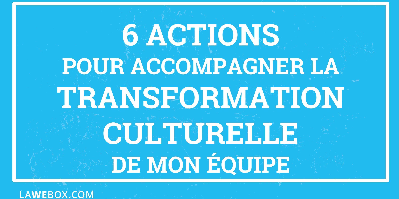 transformation culturelle