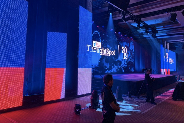 AmerisourceBergen Thoughtspot Live Stage Display