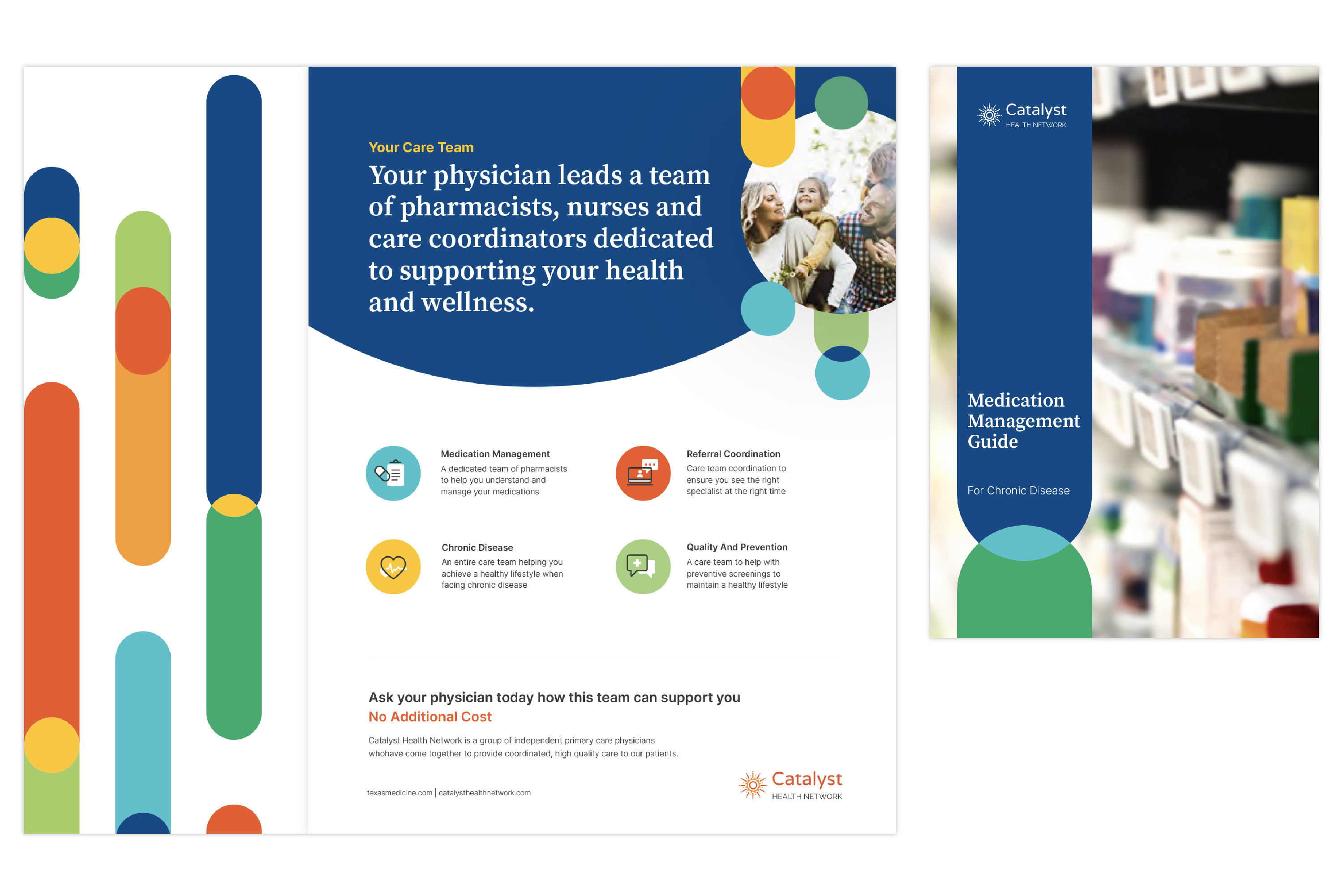 Catalyst Health Network graphic design and iconography