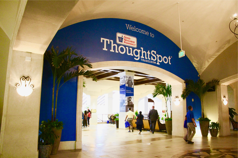 AmerisourceBergen Thoughtspot Live Tradeshow Lobby