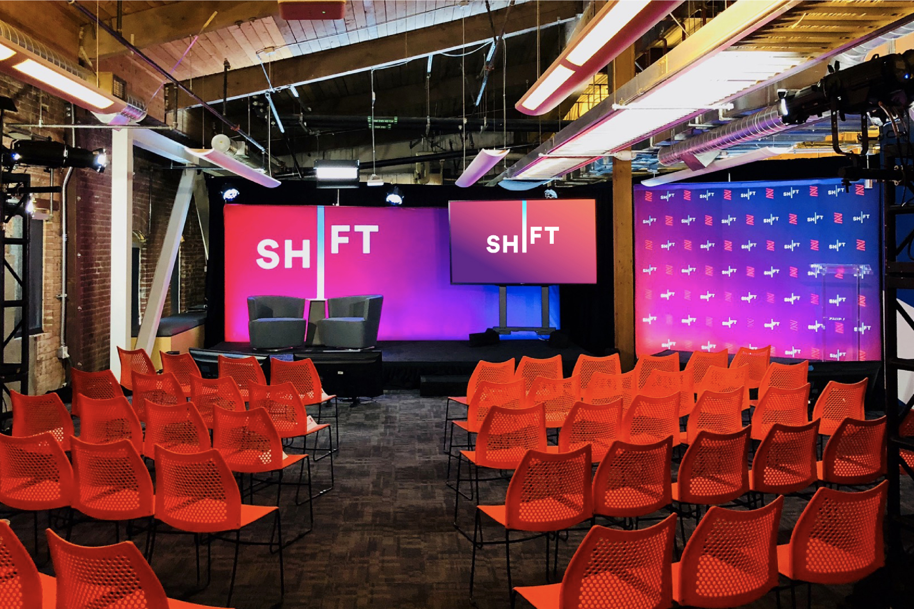 Zenefits Shift Event Stage Display