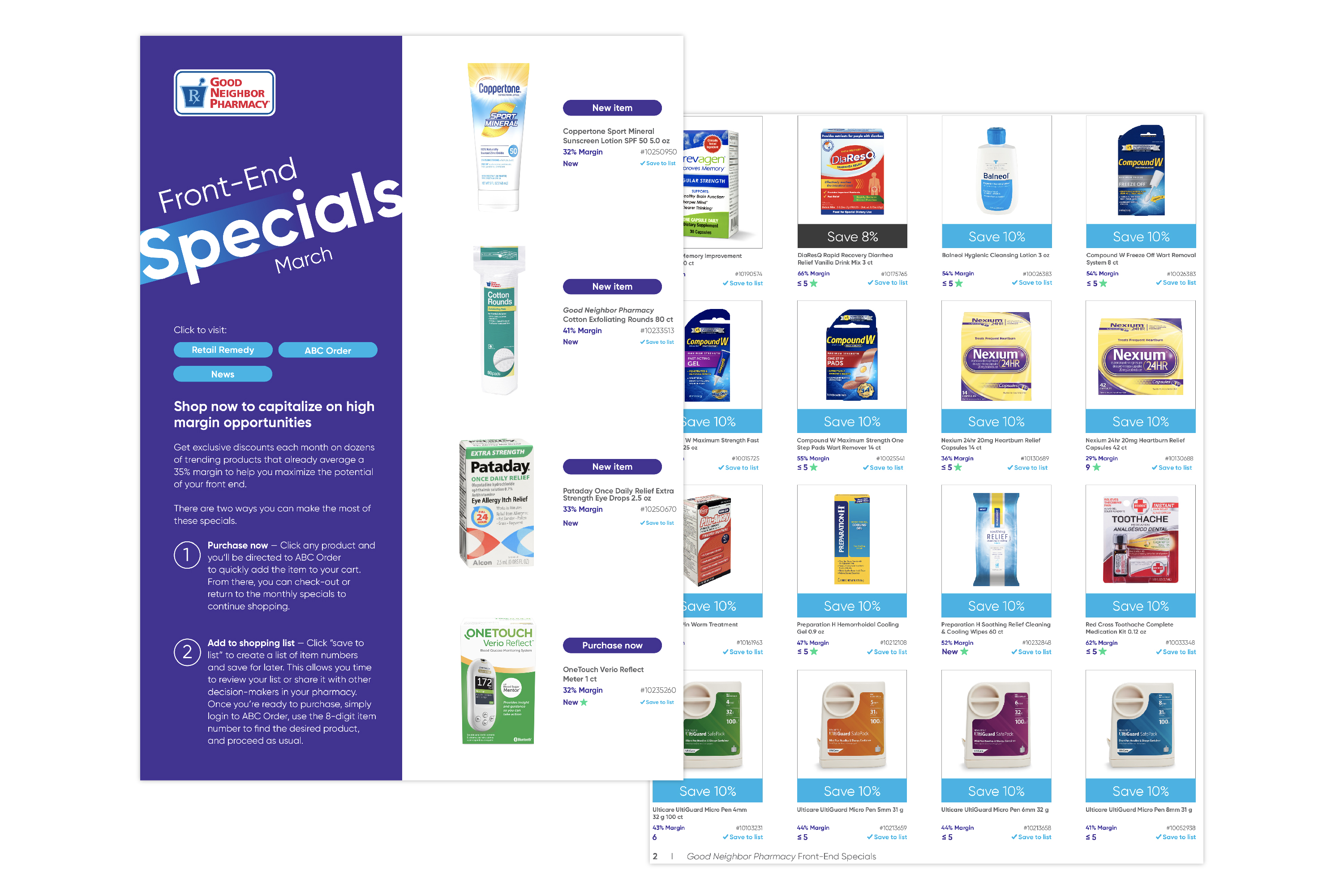 Good Neighbor Pharmacy Front-End Specials Catalogue