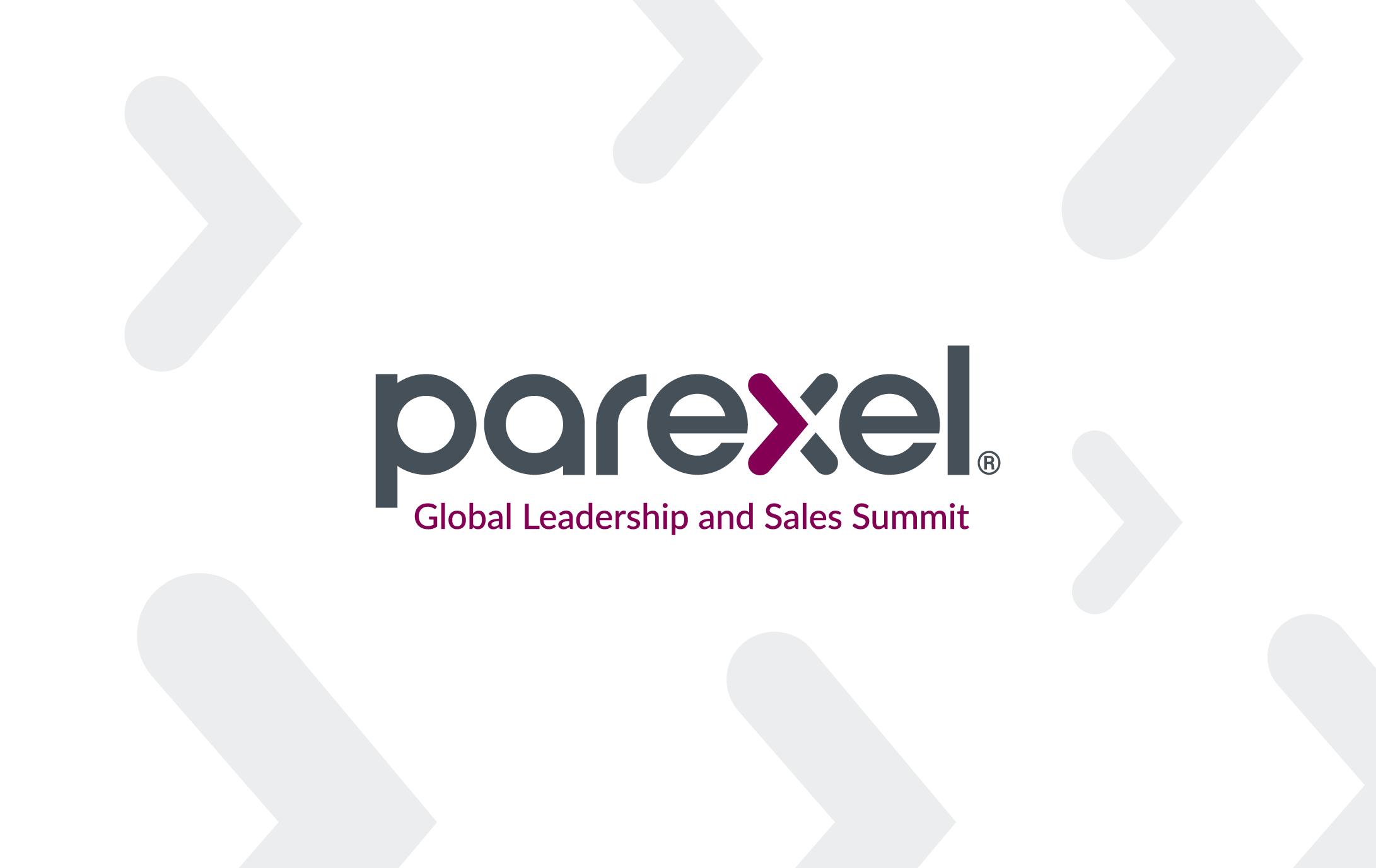 Parexel Global Leadership and Sales Summit Portfolio Link