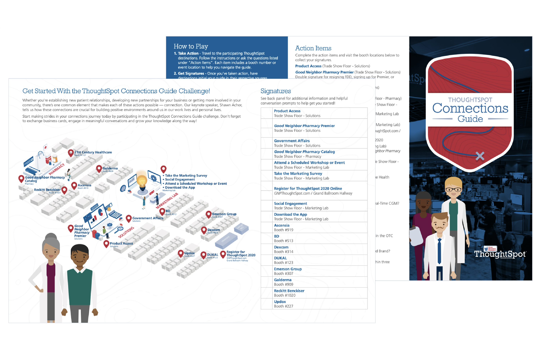 AmerisourceBergen Thoughtspot Live Good Neighbor Pharmacy Graphic Design