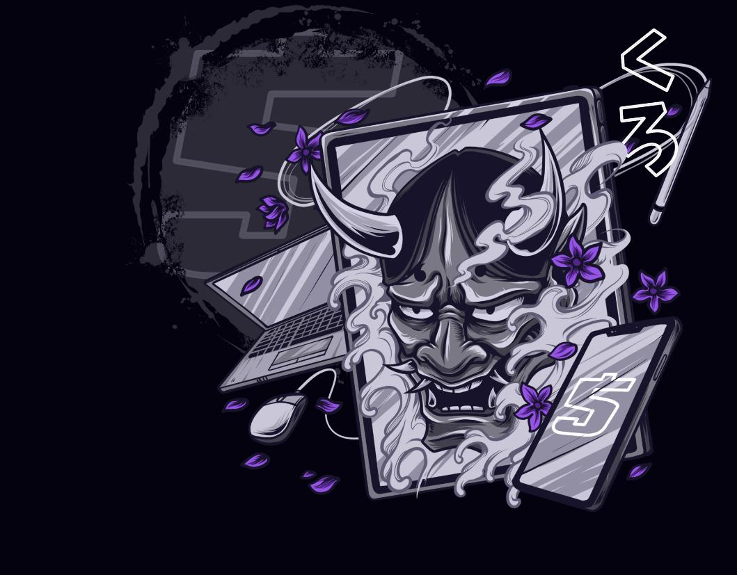 Oni Mask 5 Year Anniversary