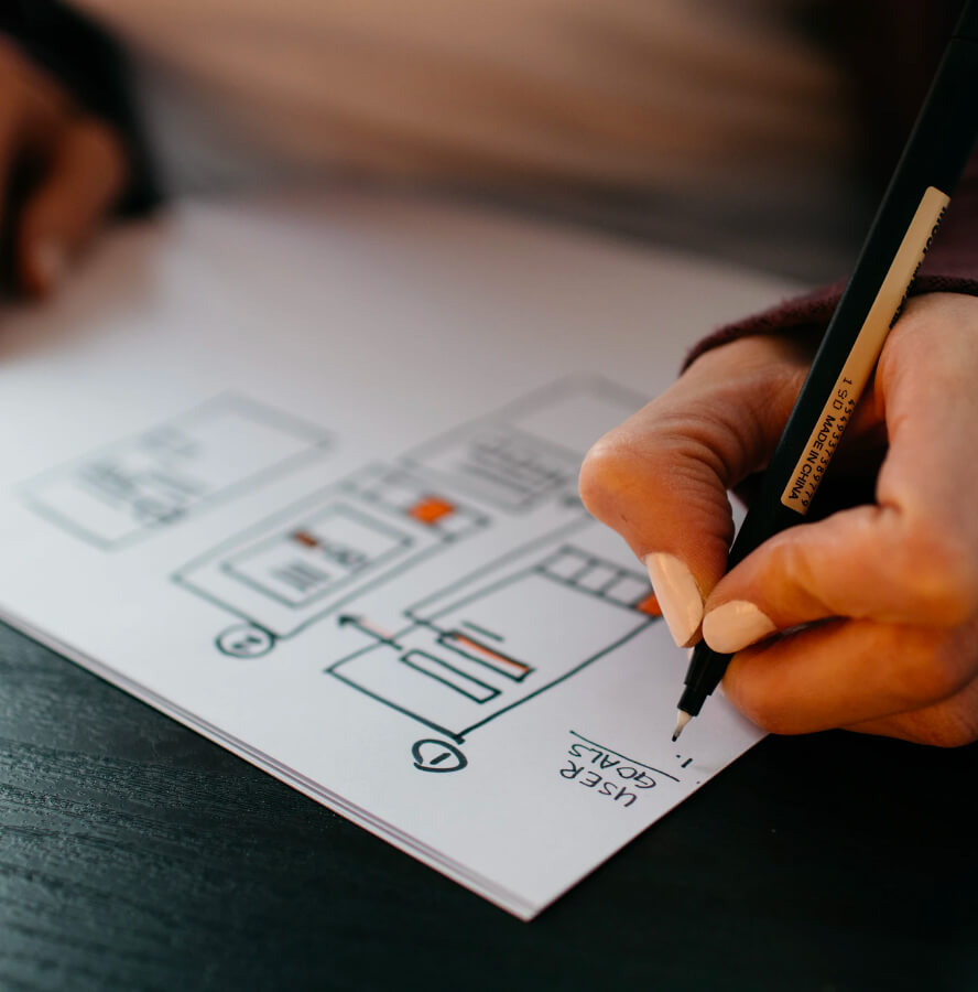UX Design, creating solid user experiences.