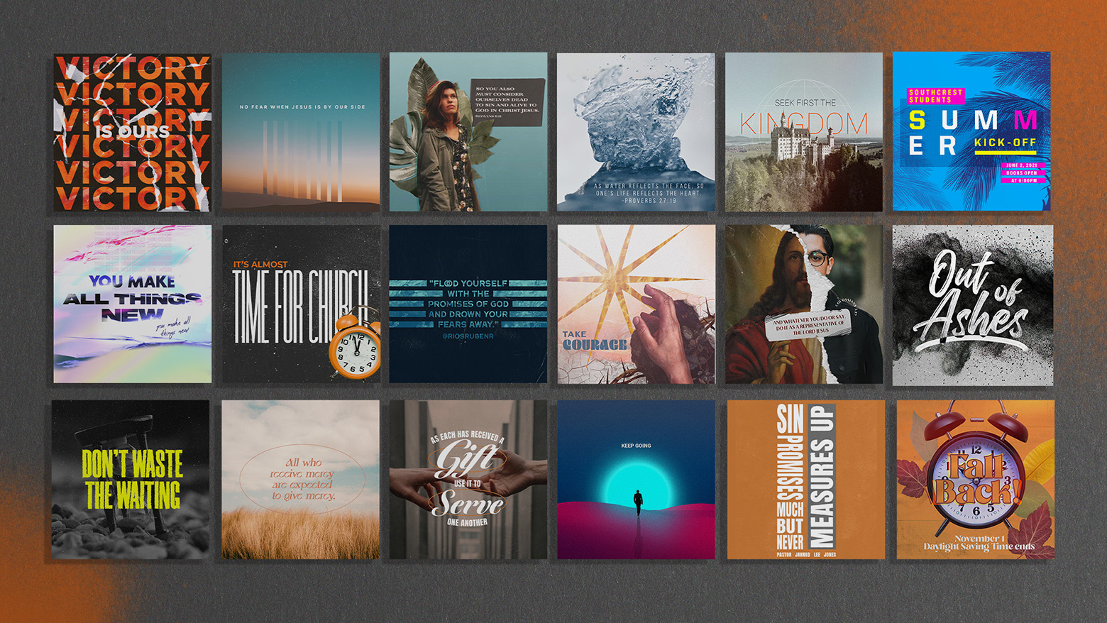 Social Media Design Samples