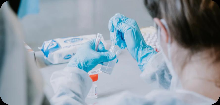 image of serology test