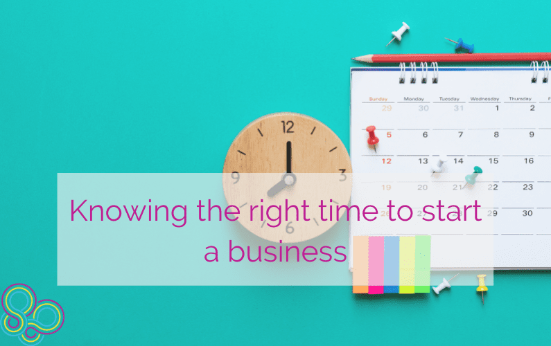 Knowing the right time to start a business