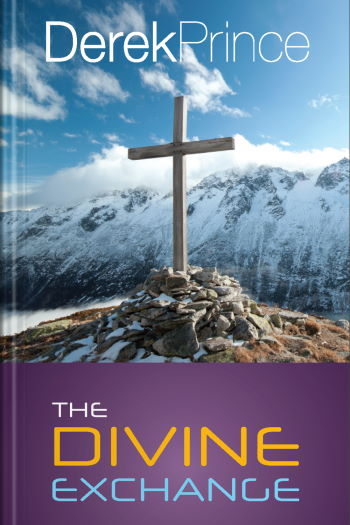 """""""The Divine Exchange"""" book cover (New Zealand edition) by Derek Prince"""