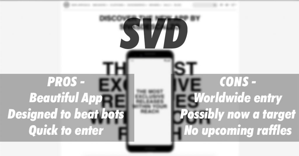 Sivasdescalzo SVD raffle pros and cons
