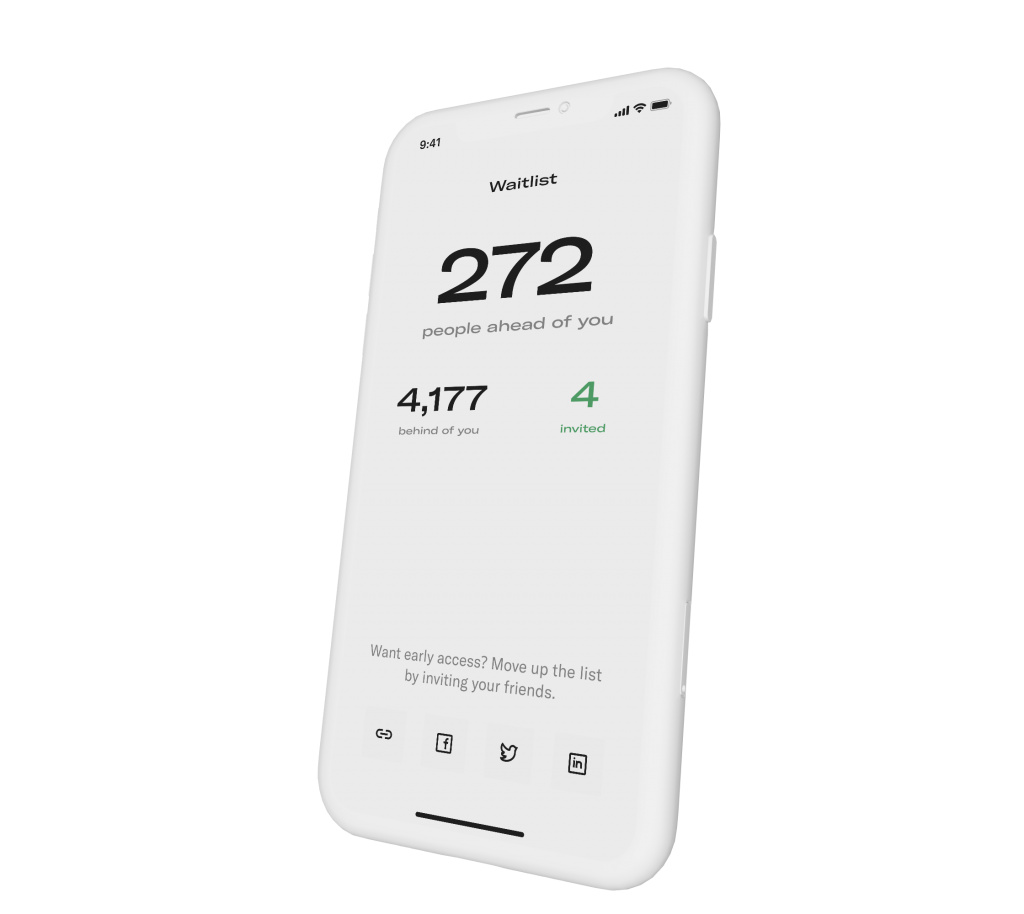 Sole Retriever Mobile App Waitlist Screenshot