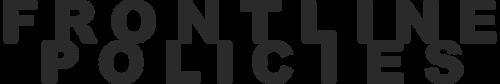 Frontline Policies Logo