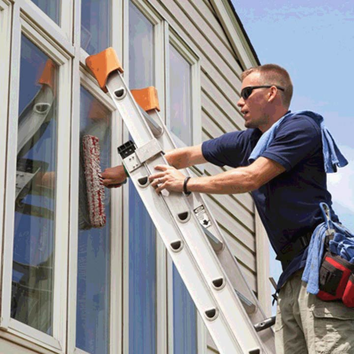 Residential window cleaning in the Greater Houston Area