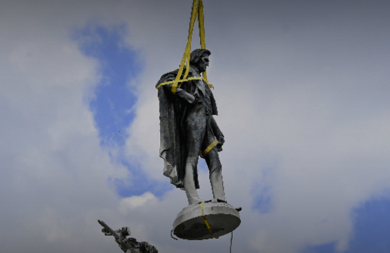 The city of Charleston, South Carolina, removed a statue honoring John C. Calhoun