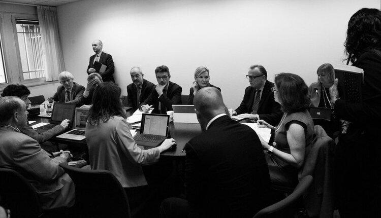 Meeting between city leaders